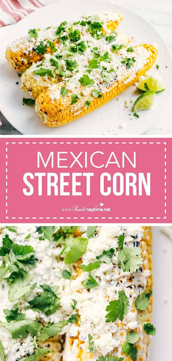 mexican street corn collage
