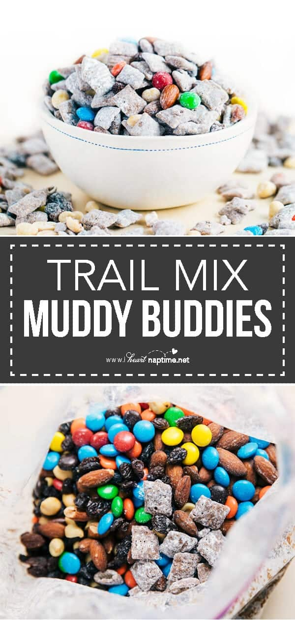 trail mix muddy buddies recipe