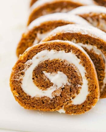 easy pumpkin roll recipe