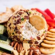 cheese ball recipe with bacon