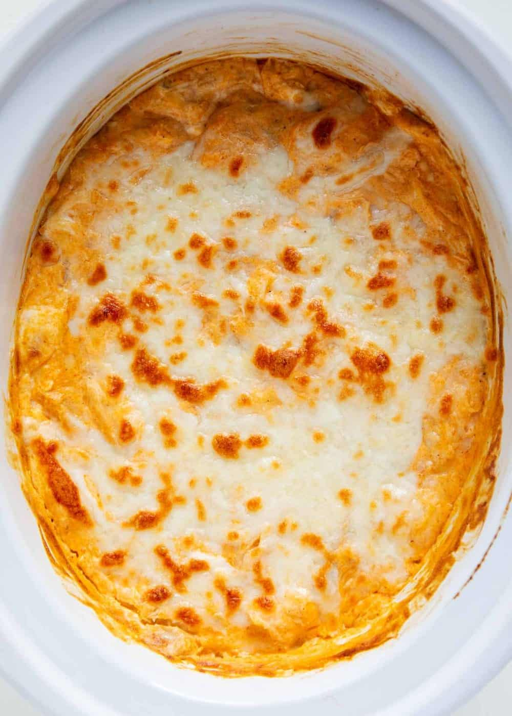 buffalo chicken dip recipe in crockpot