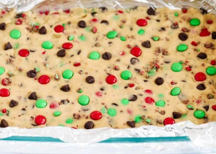 m&m Christmas recipes