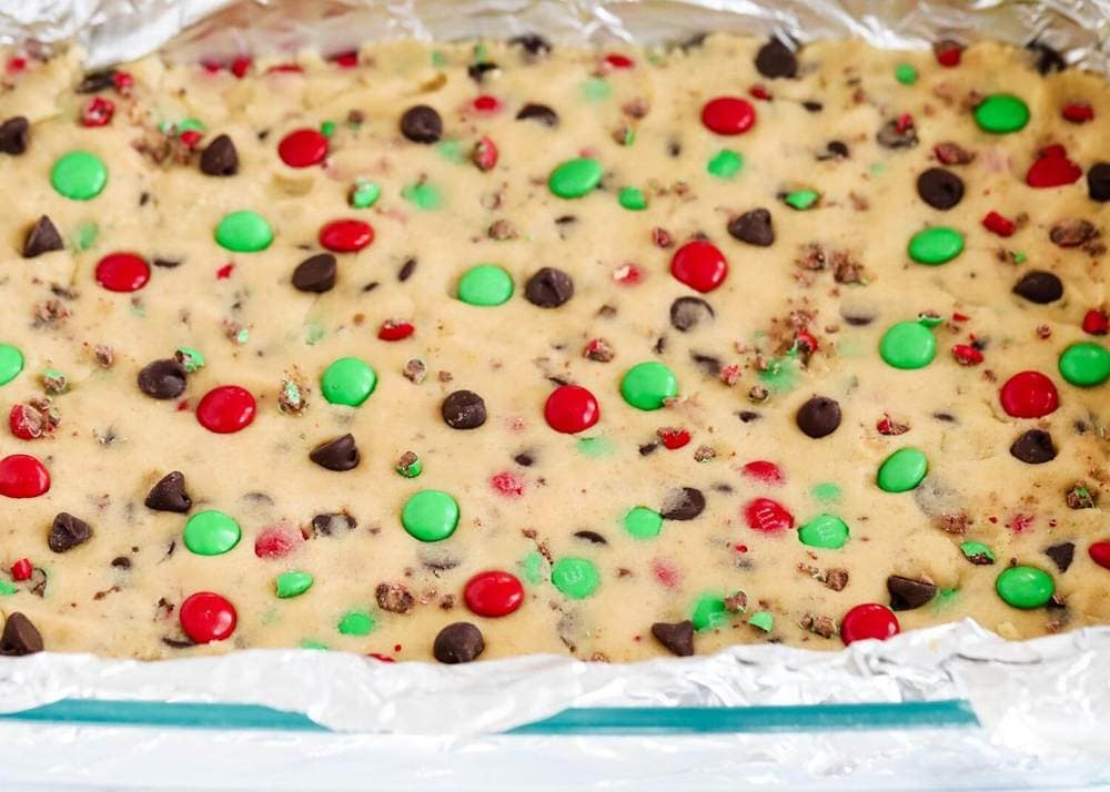 m&m Christmas recipes