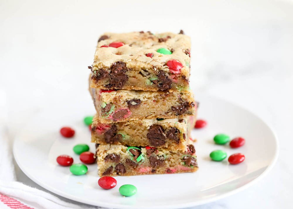 M M Cookie Bars Recipe