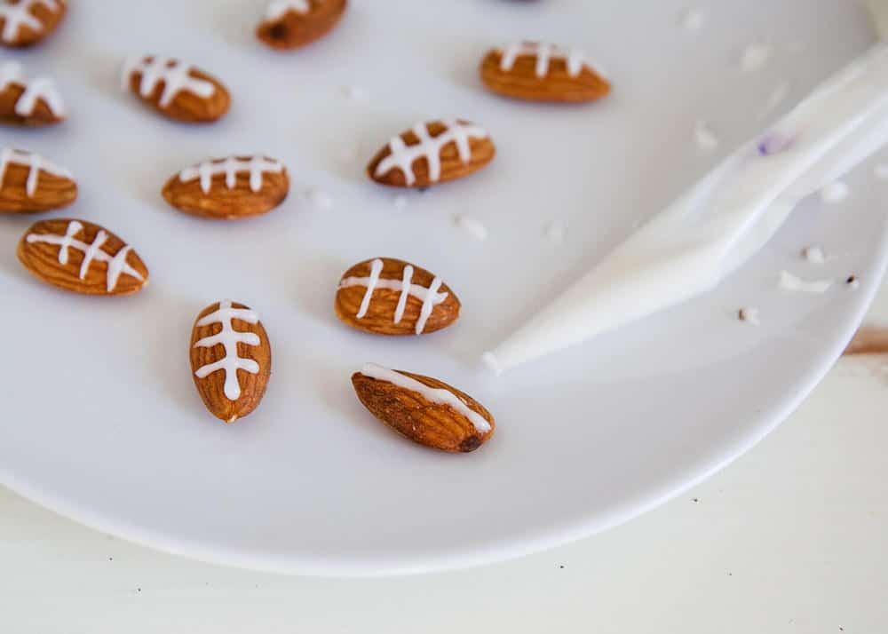 football almonds for chex party mix