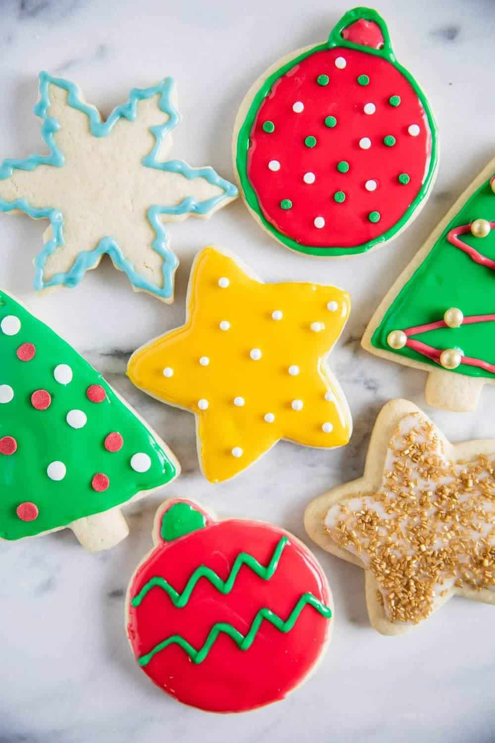 Christmas Cookie Frosting.Icing Recipe