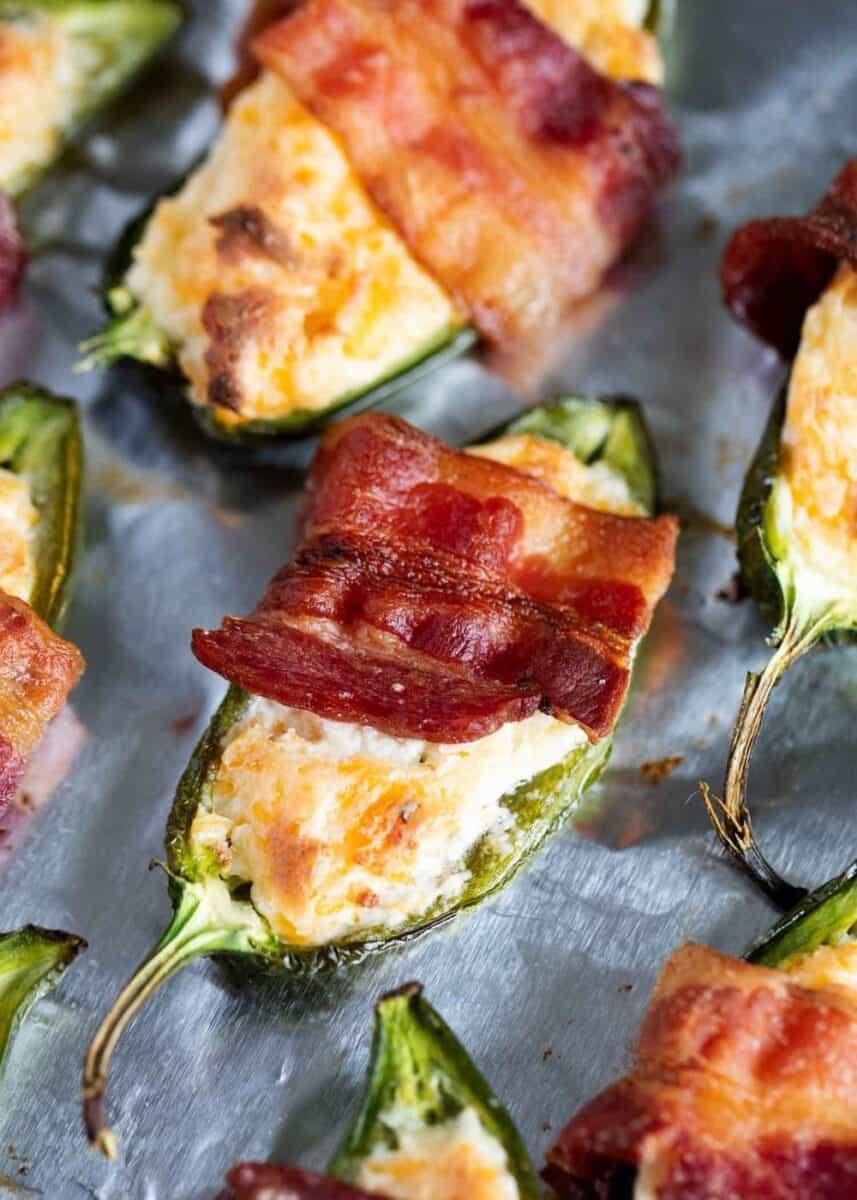 bacon wrapped jalapeno popper
