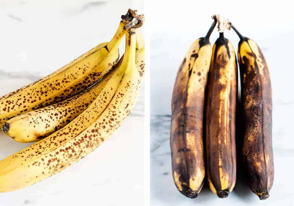 best bananas for banana bread that are brown and spotty