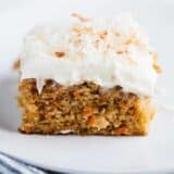 best carrot cake with toasted coconut