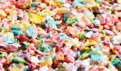 fruity pebble treats