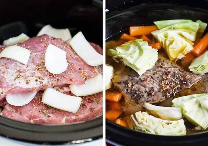 cooking corned beef in crock pot