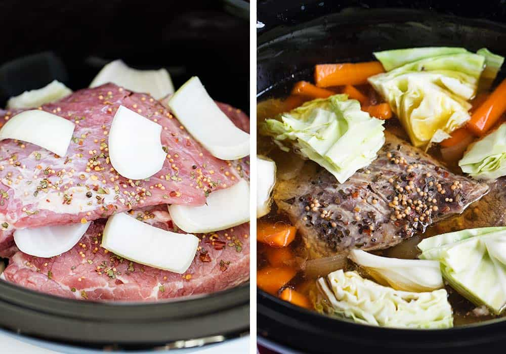 how to cook corned beef in crock pot