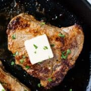how to cook steak in oven skillet