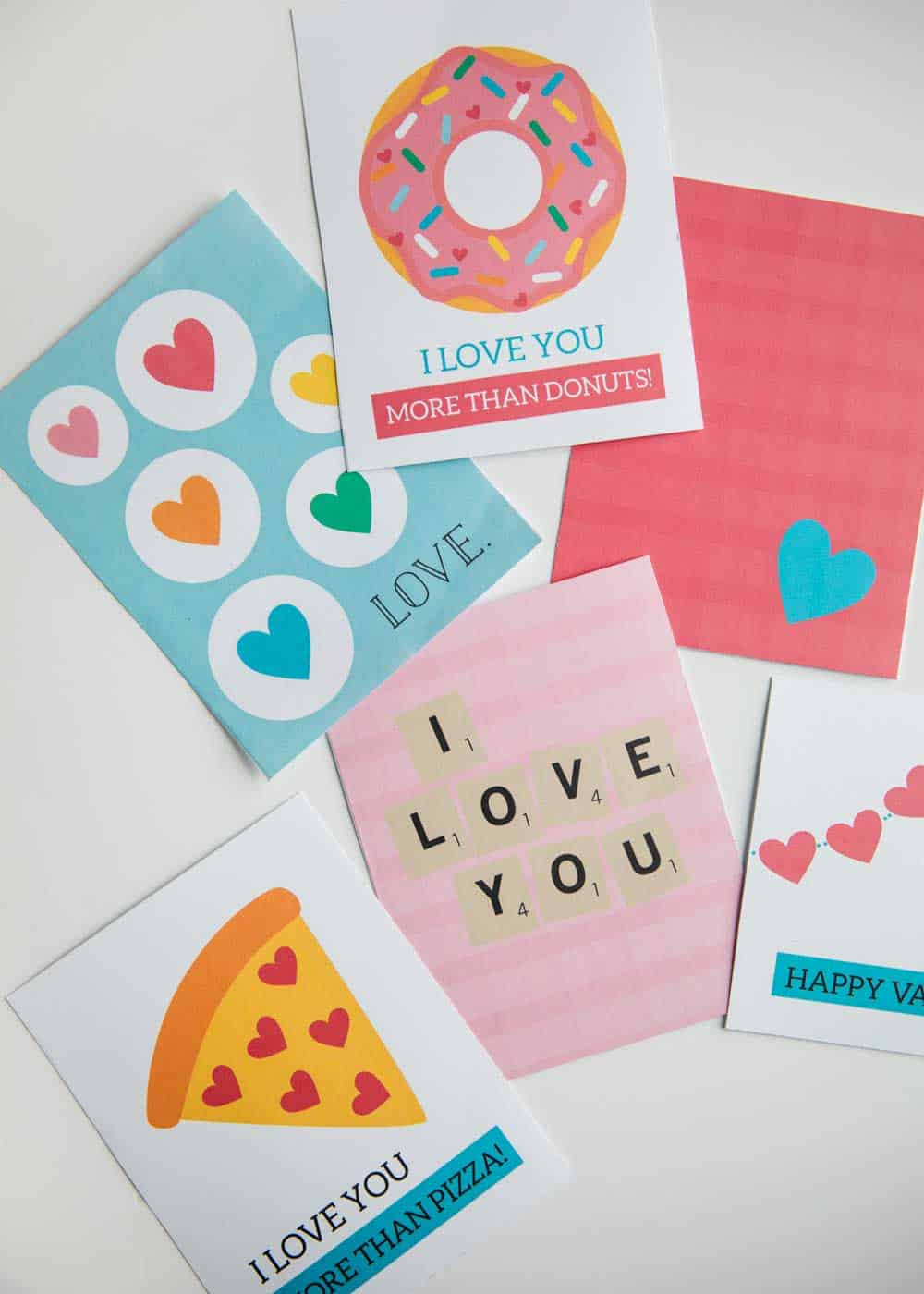 photograph relating to Printable Valentines Craft identified as Free of charge Printable Valentines Working day Playing cards - I Centre Naptime