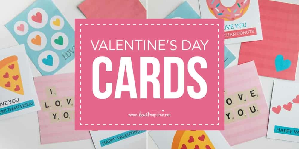 picture relating to Valentines Cards Printable named Totally free Printable Valentines Working day Playing cards - I Centre Naptime