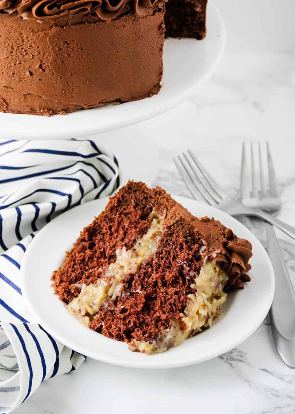 german cake slice