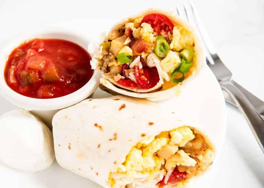 easy breakfast burritos