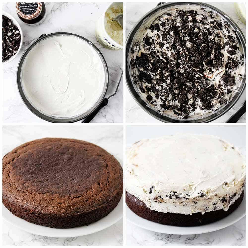 Superb Easy Homemade Ice Cream Cake I Heart Naptime Personalised Birthday Cards Veneteletsinfo