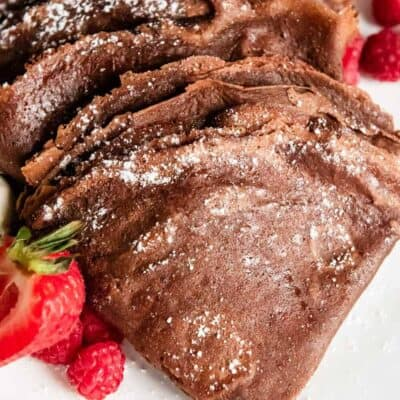 easy chocolate crepes