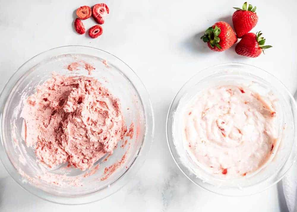 easy strawberry frosting