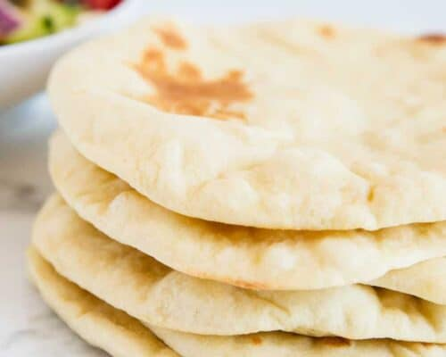 stack of pita bread