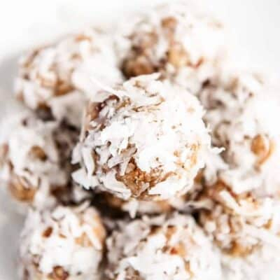 Chocolate Peanut Butter Protein Balls - I Heart Naptime