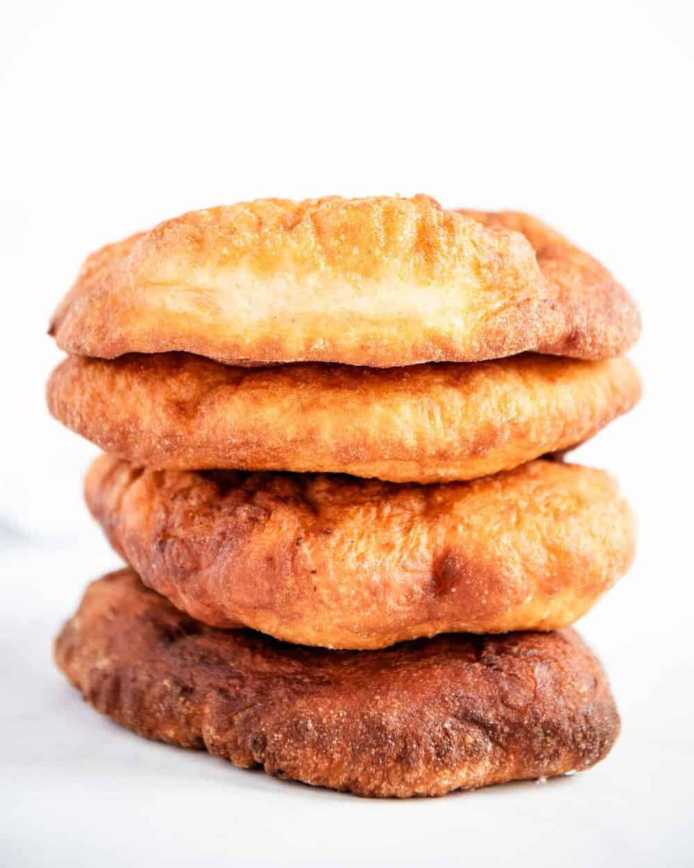 stack of fry bread