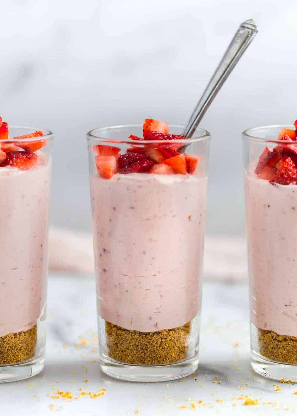 Easy Strawberry Cheesecake Mousse I Heart Naptime