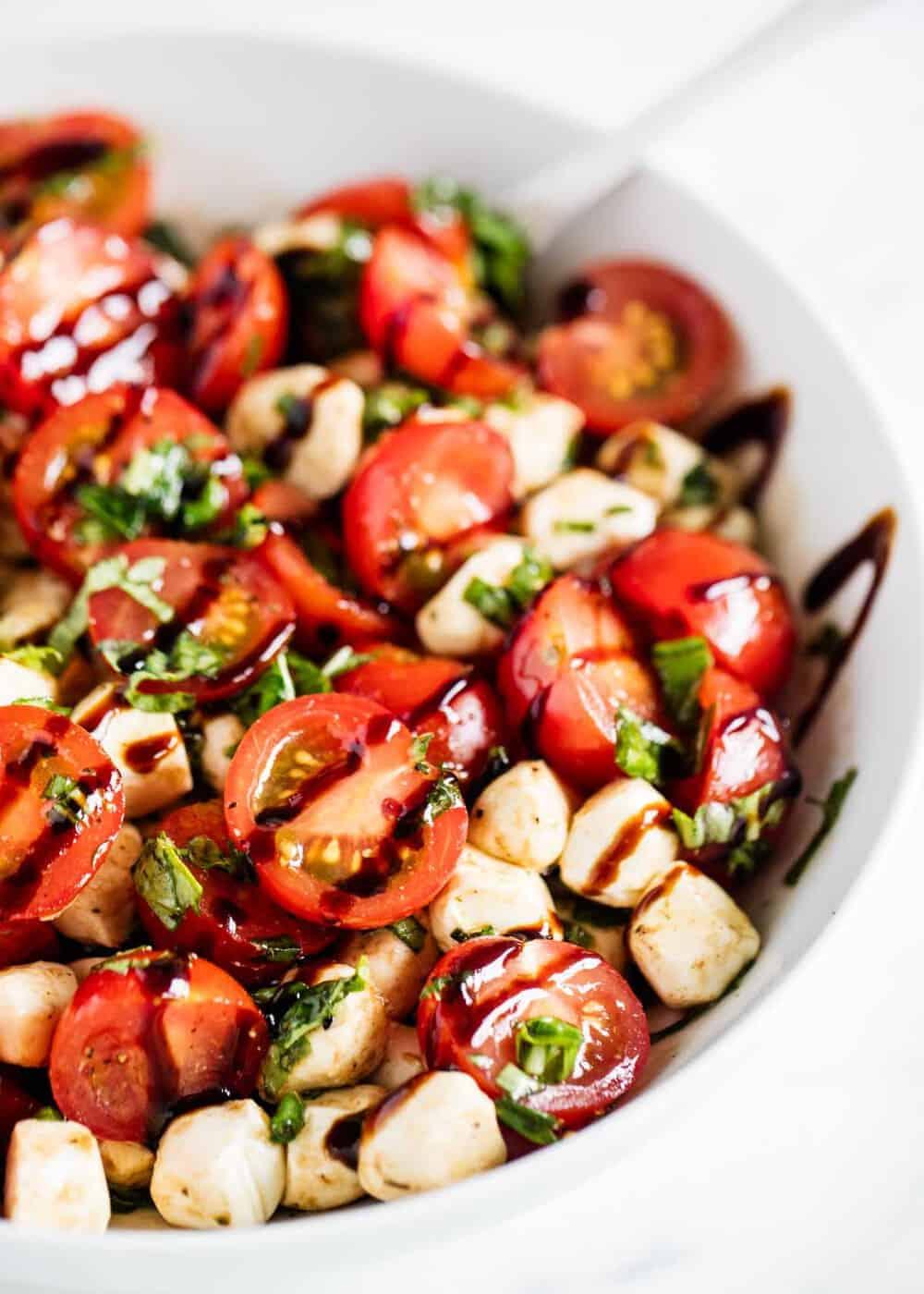 Easy Caprese Salad 10 Minutes Prep I Heart Naptime
