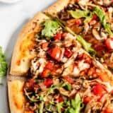 whole wheat pizza slice