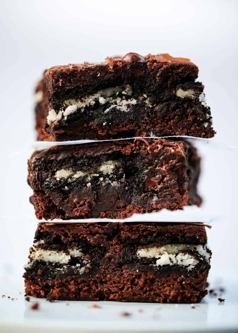 The Easiest Oreo Brownies I Heart Naptime