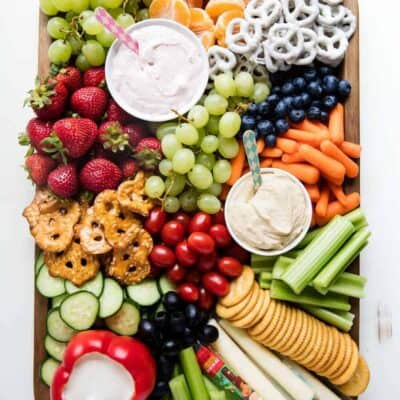 fruit and vegetable platter