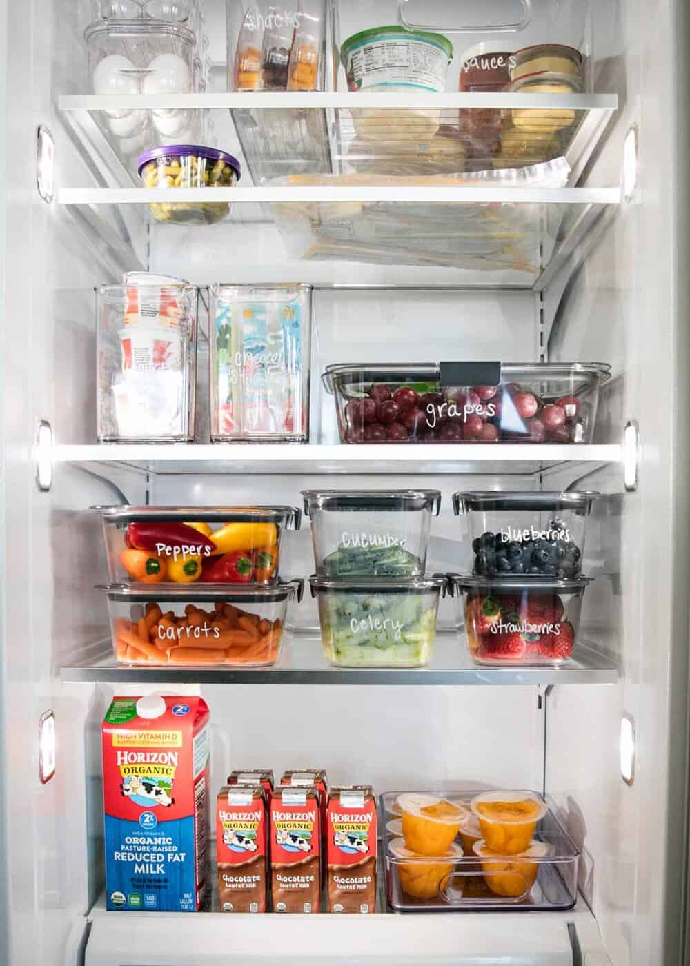 Fridge organization
