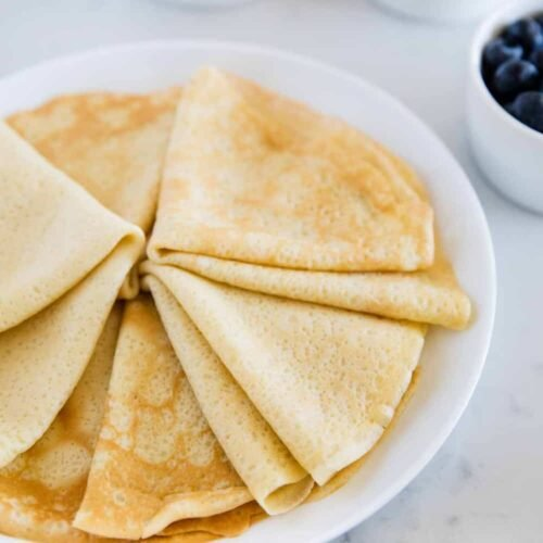 Easy Crepe Recipe With Video I Heart Naptime
