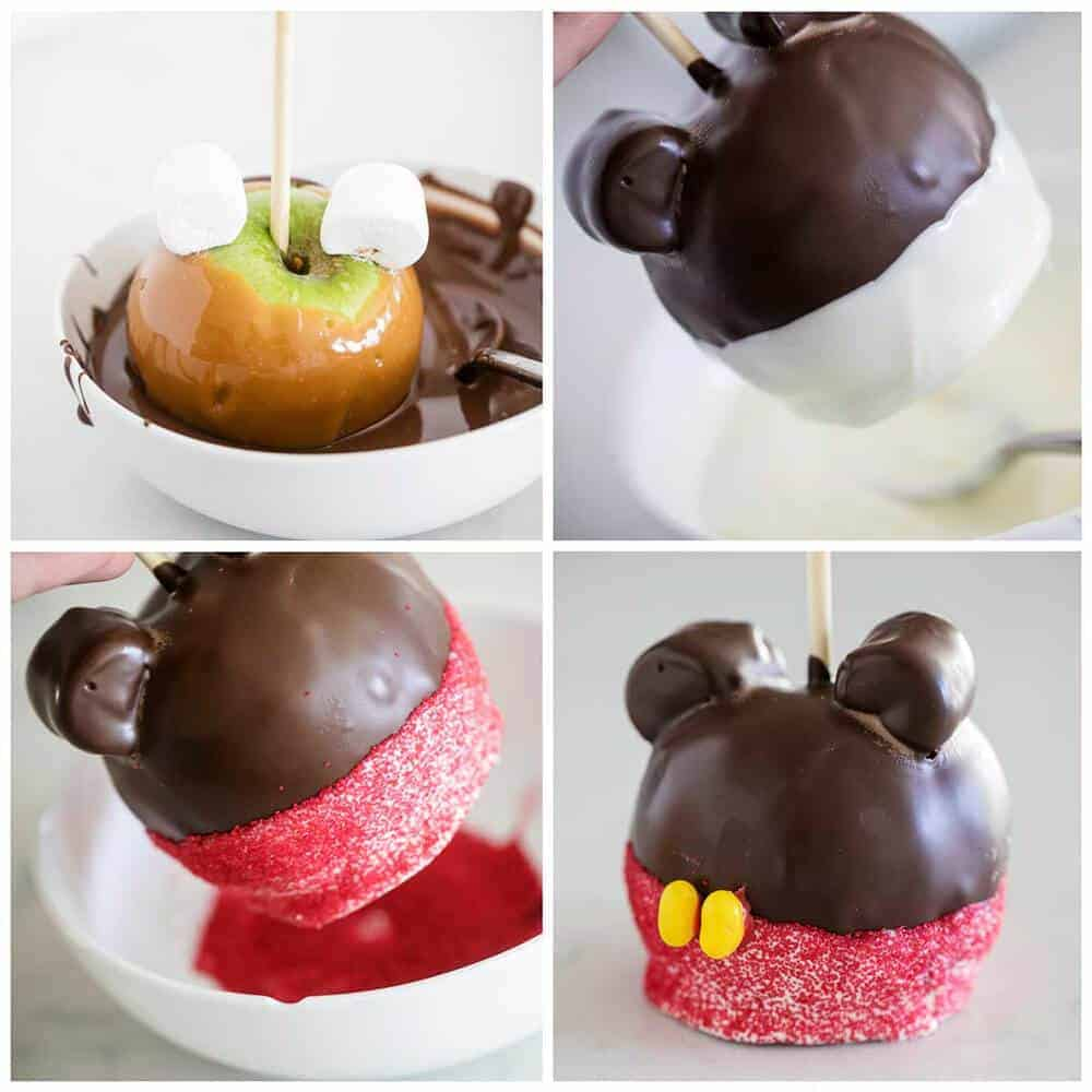 disney caramel apples