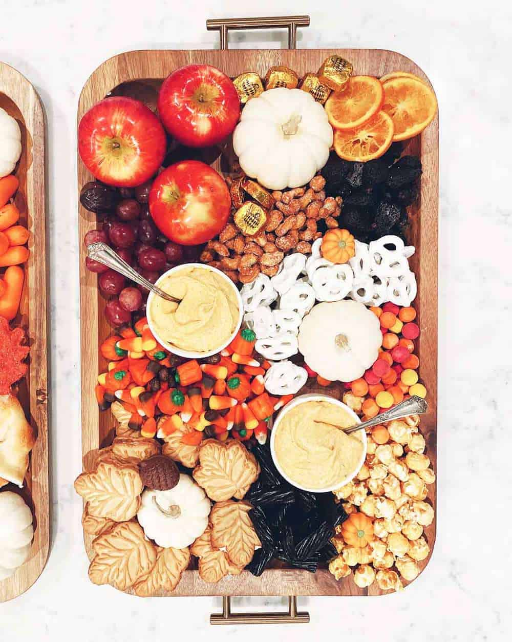 fall snack board