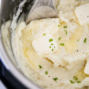 mashed potatoes made in the instant pot