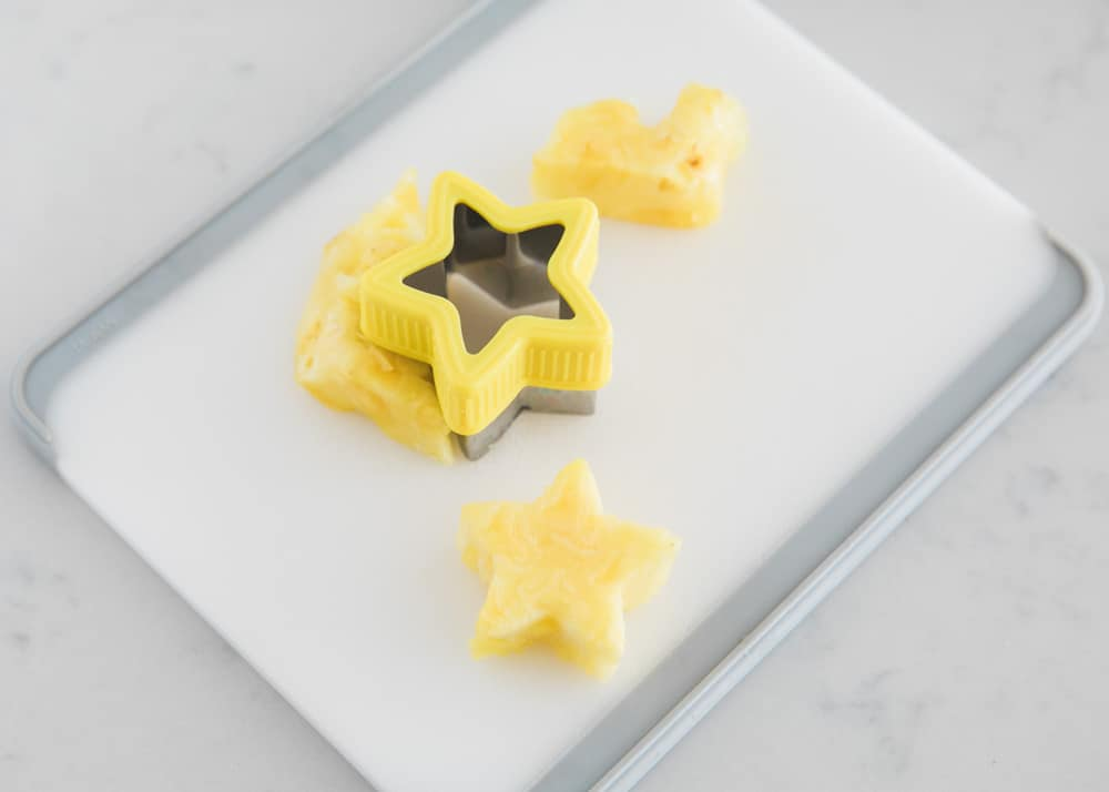 star shaped pineapple