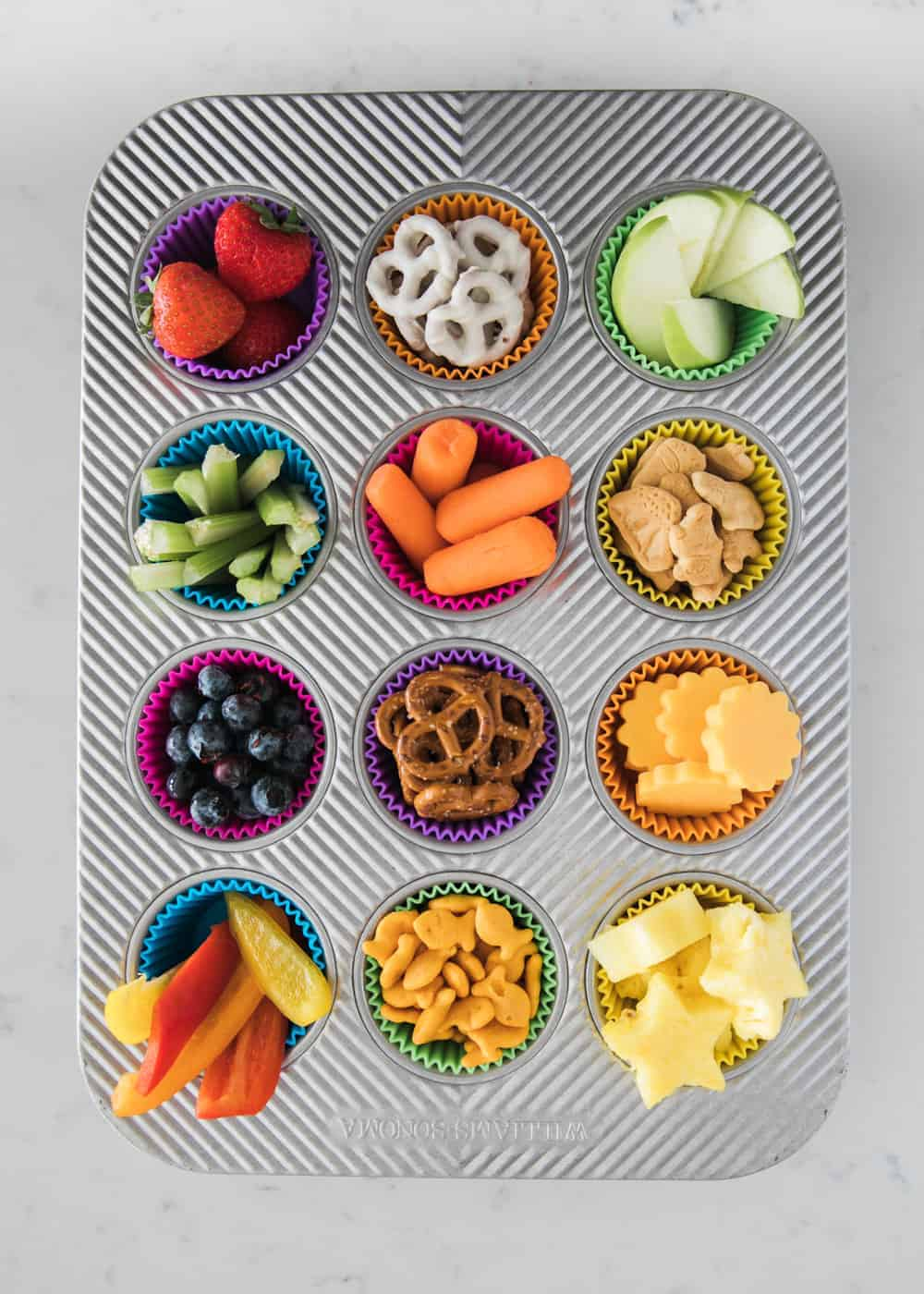 muffin pan snack tray
