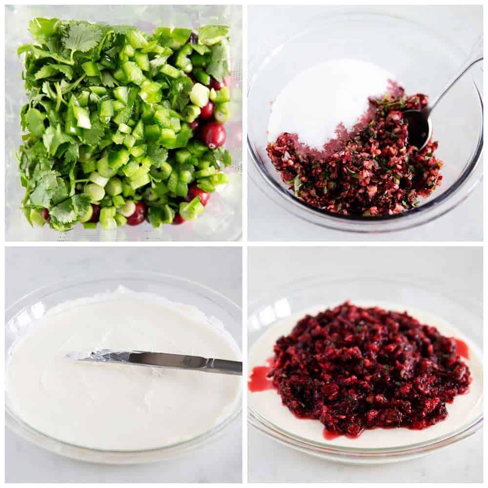 how to make cranberry salsa