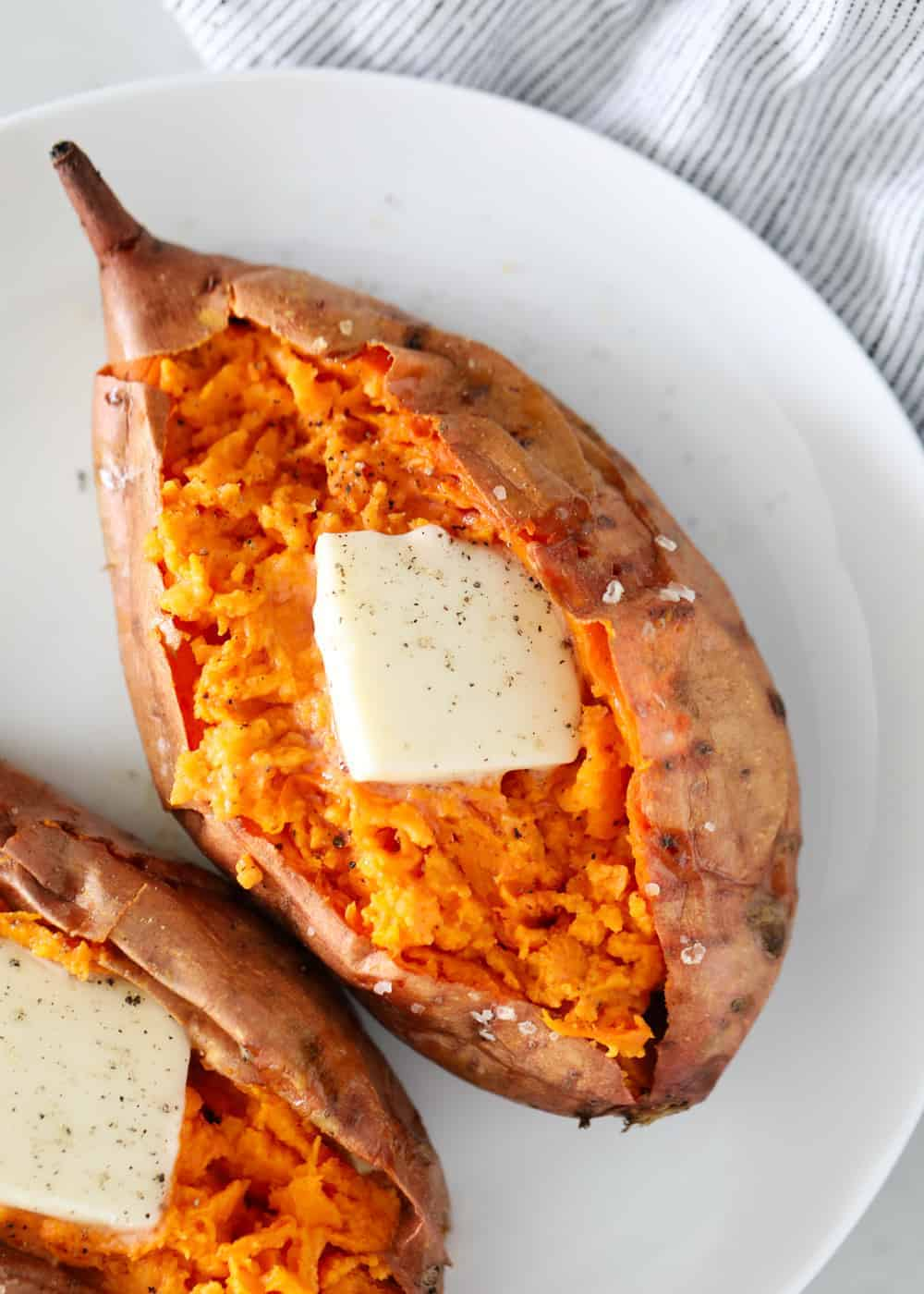 Easy Oven Baked Sweet Potatoes I Heart Naptime