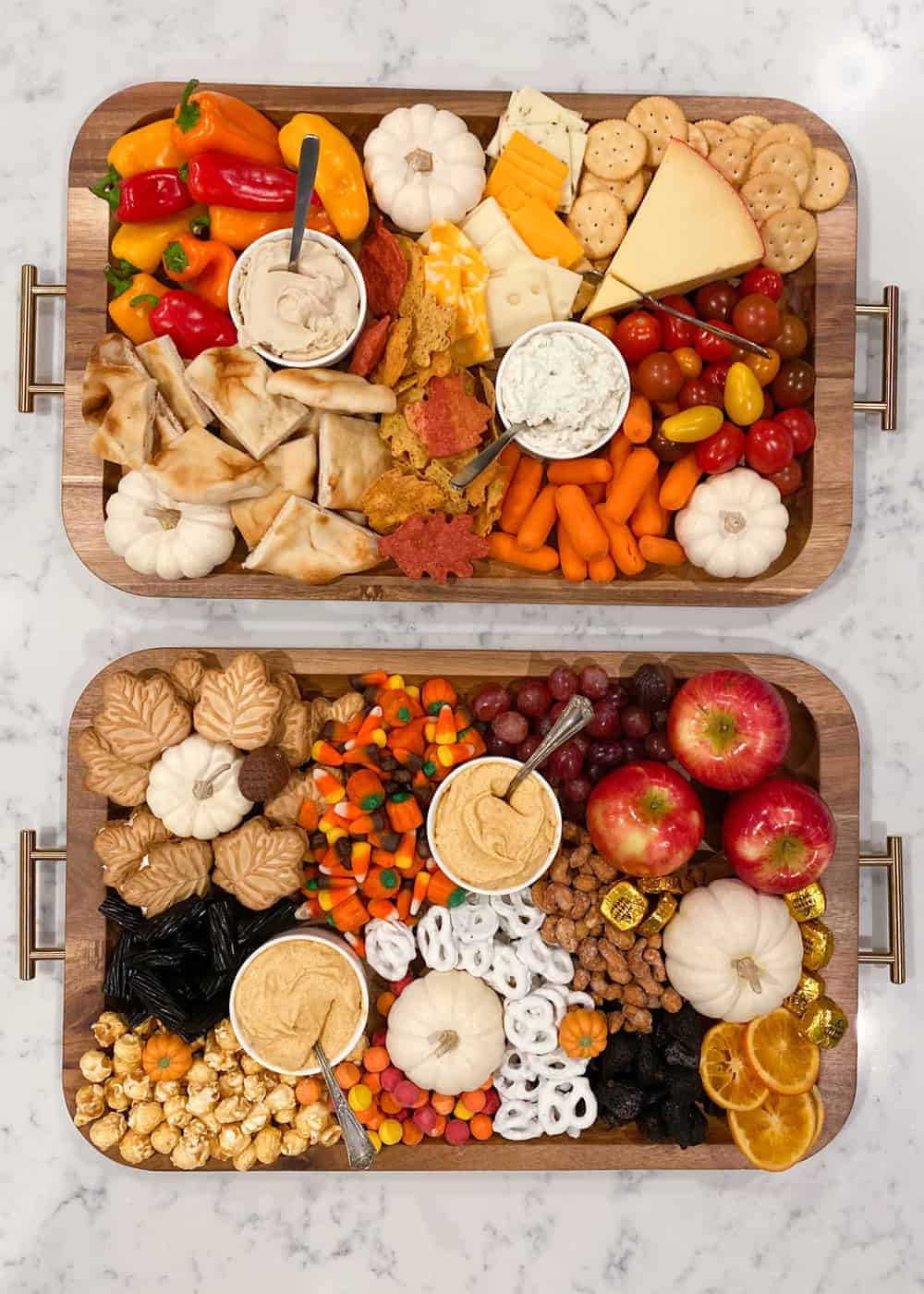savory and sweet charcuterie board