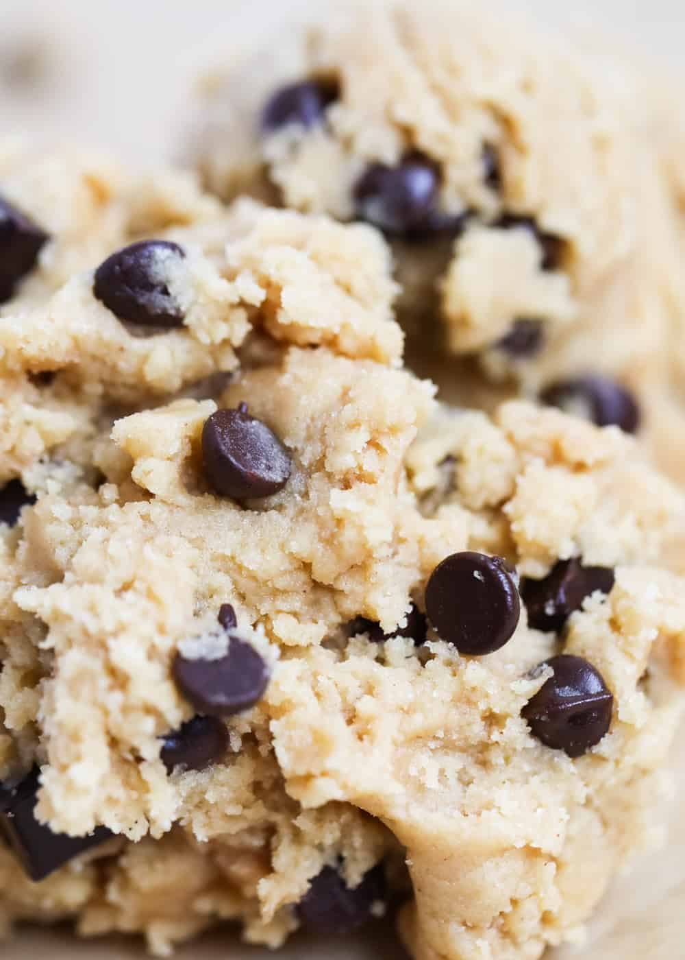 chocolate chip pudding cookie dough