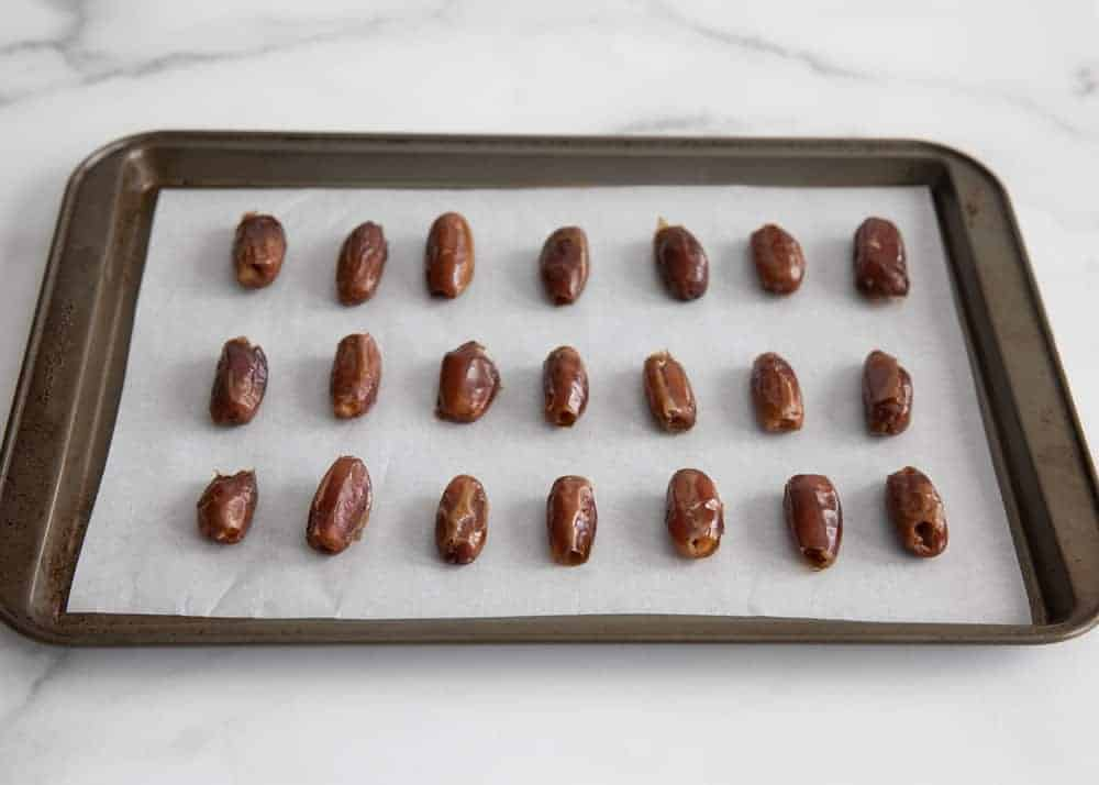 pan of dates