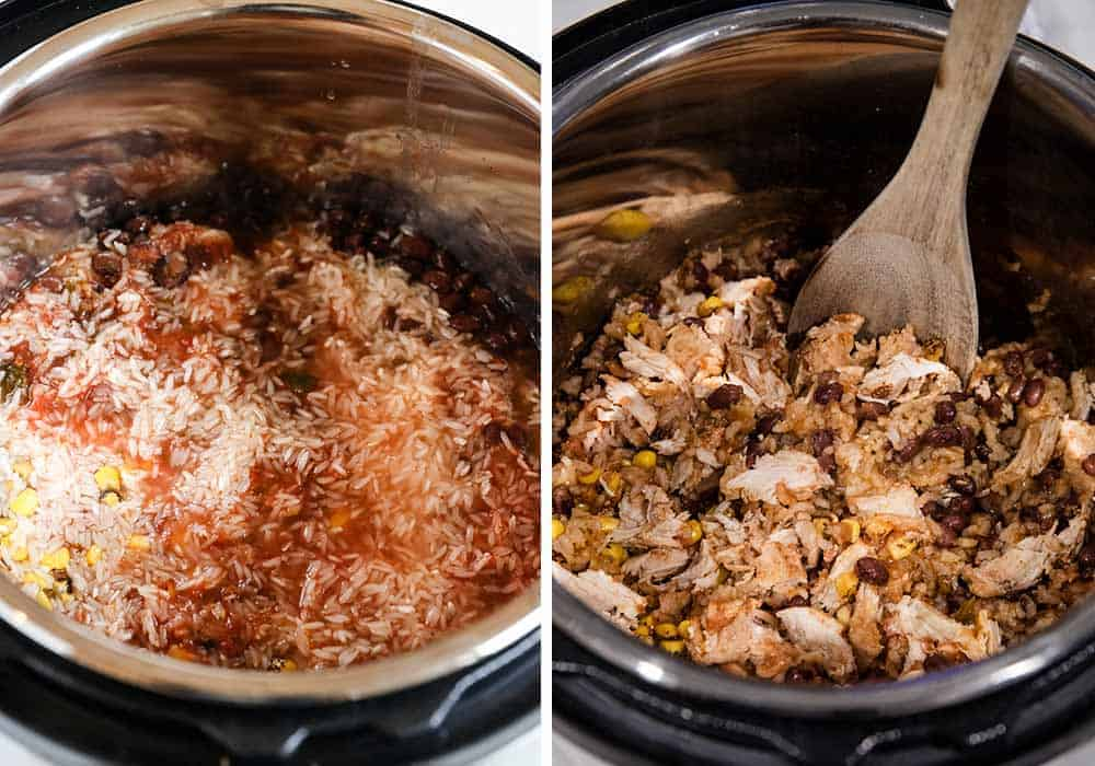 making taco bowls in instant pot