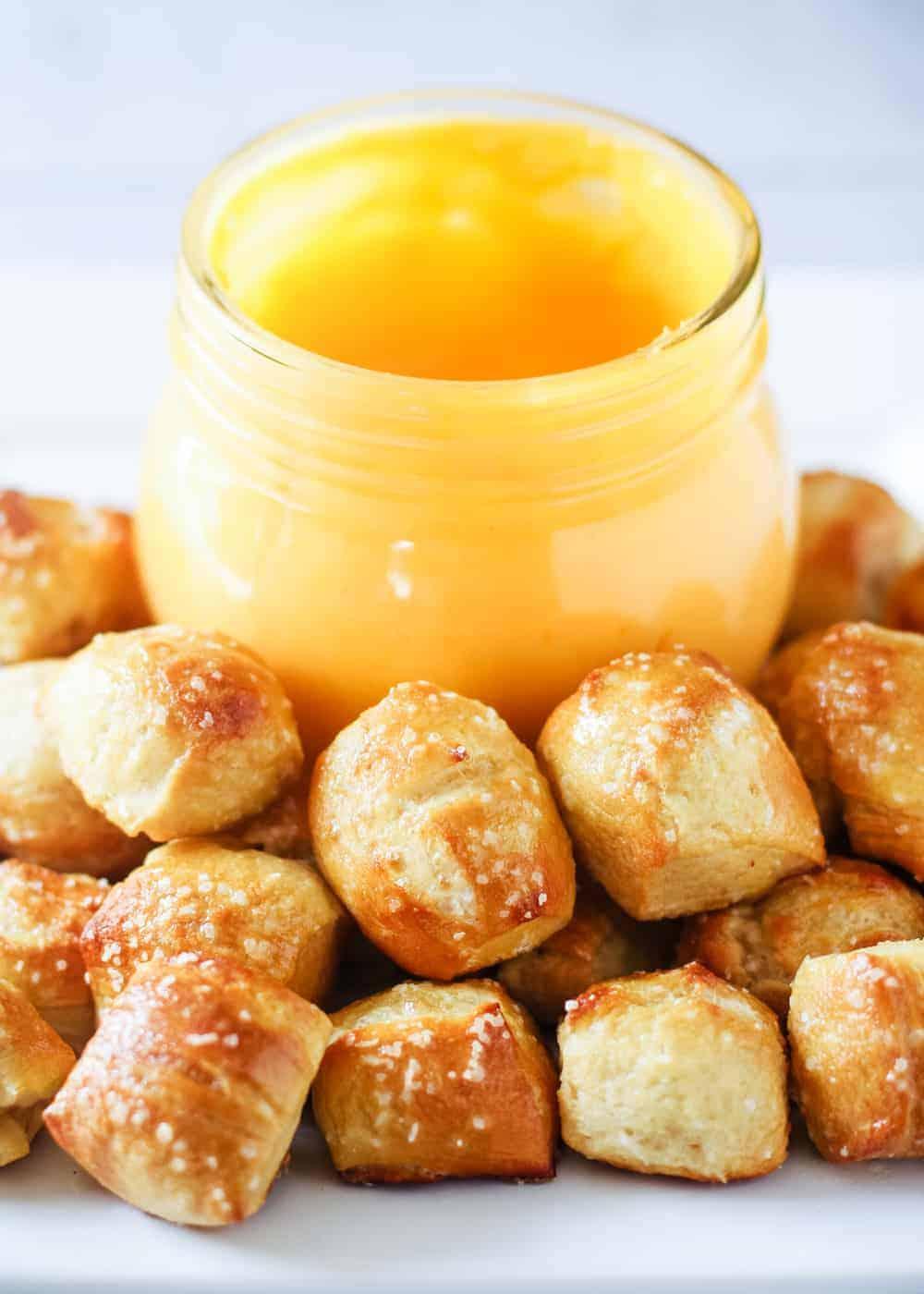 EASY Homemade Pretzel Bites Recipe - I