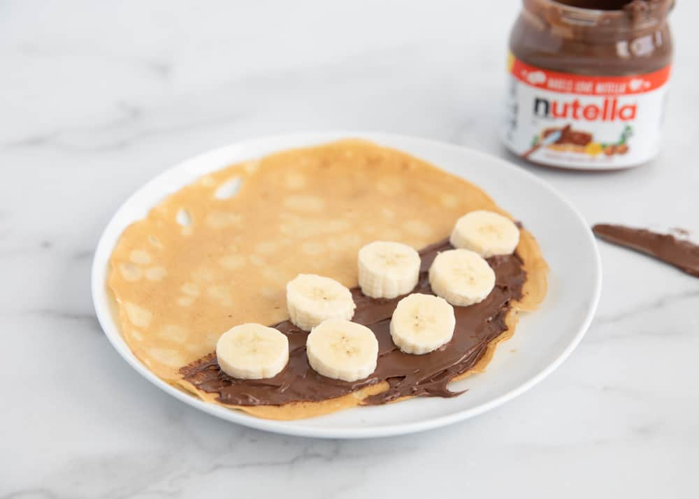 Easy Nutella Crepes Made In The Blender I Heart Naptime