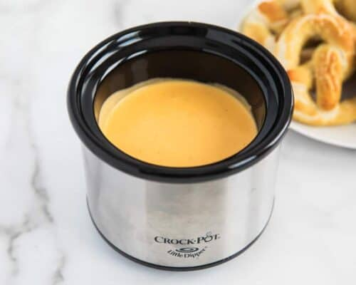 cheese sauce in crock pot
