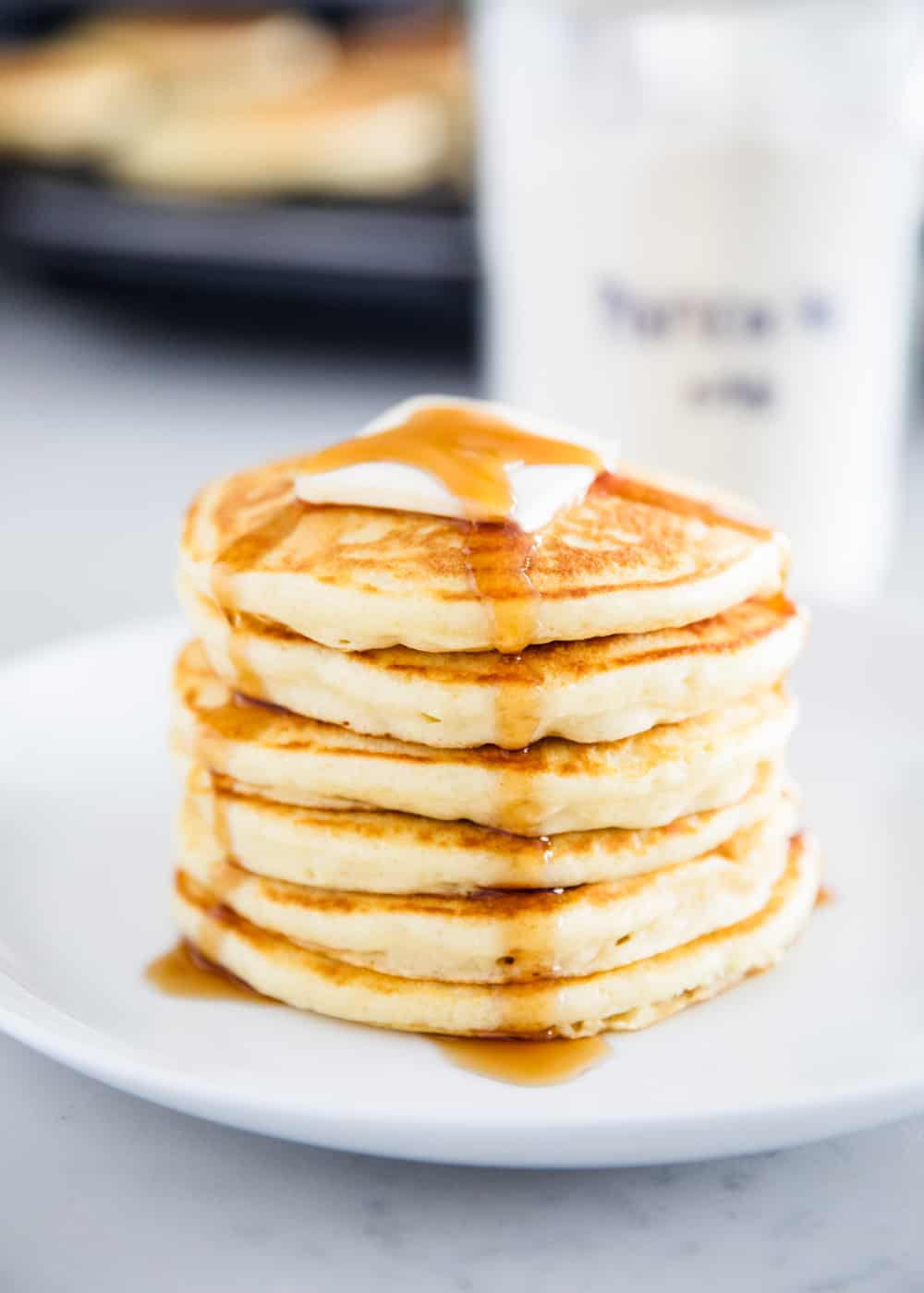 Easy 5 Ingredient Pancake Mix I Heart Naptime