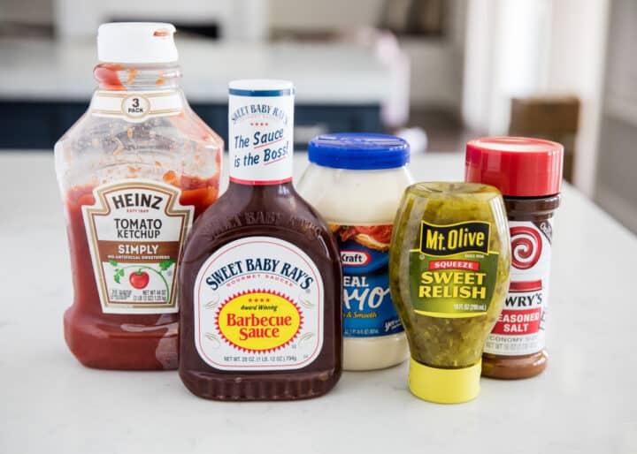 burger sauce ingredients